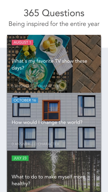 Loop Journal: Q&A a day shows your changes