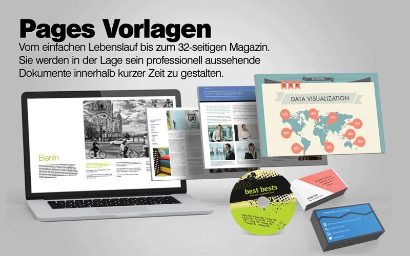 Vorlagen Center Für Iwork Pages Numbers Keynote Free Mac Software