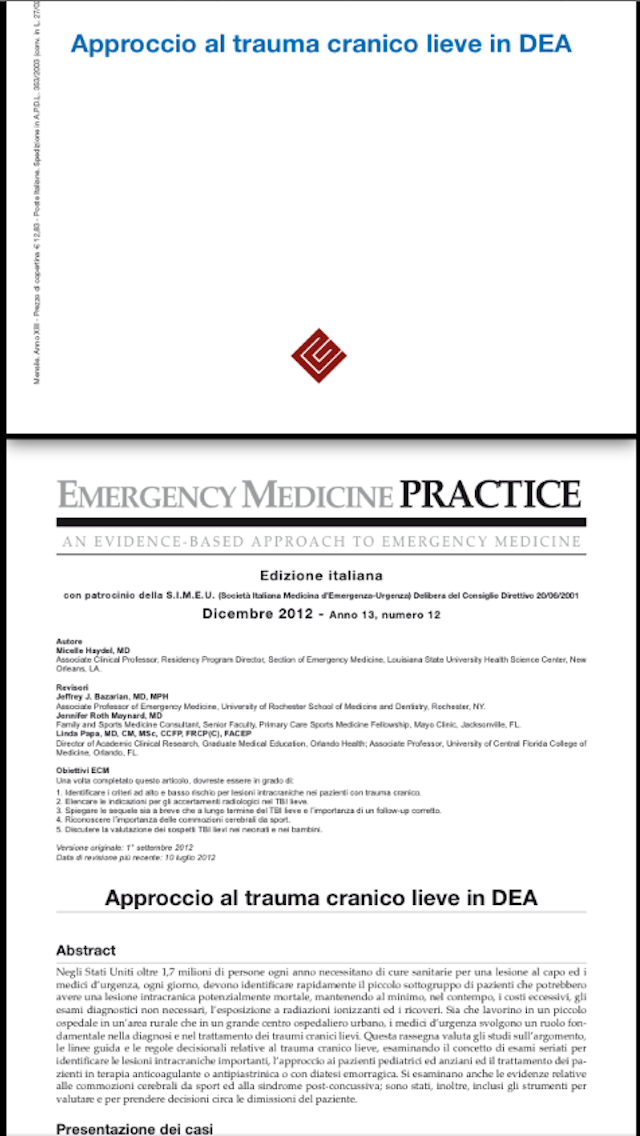 点击获取Emergency Medicine Practice