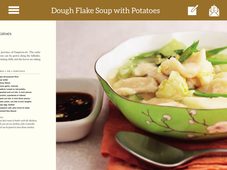 Korean Cooking Recipes for iPad
