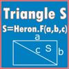 三辺で面積計算(ヘロンの公式)Triang...