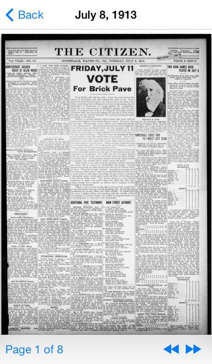 Vintage Newspapers screenshot-4