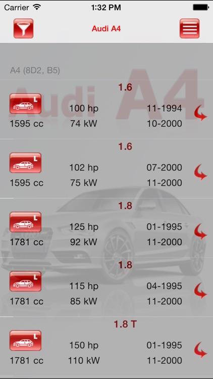 AutoParts  Audi A4 screenshot-3