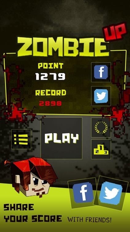 Zombie Up - Retro Shooter Combat screenshot-3
