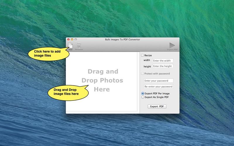 Images To PDF Converter New скриншот программы 1