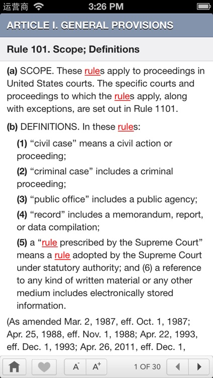 FRE:Federal Rules Of Evidence screenshot-4