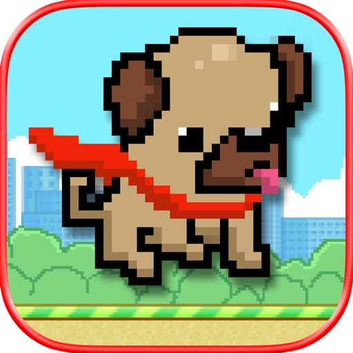 Magical Pug Flight - Impossible Pixel Flyers