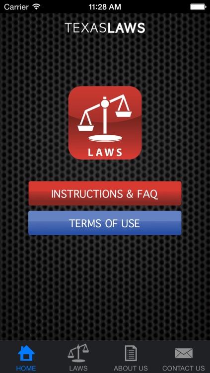 Texas Laws
