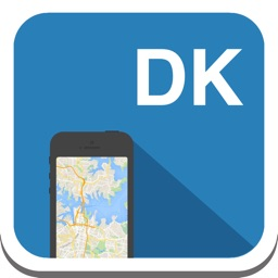 Denmark & Copenhagen offline map, guide, weather, hotels. Free GPS navigation.