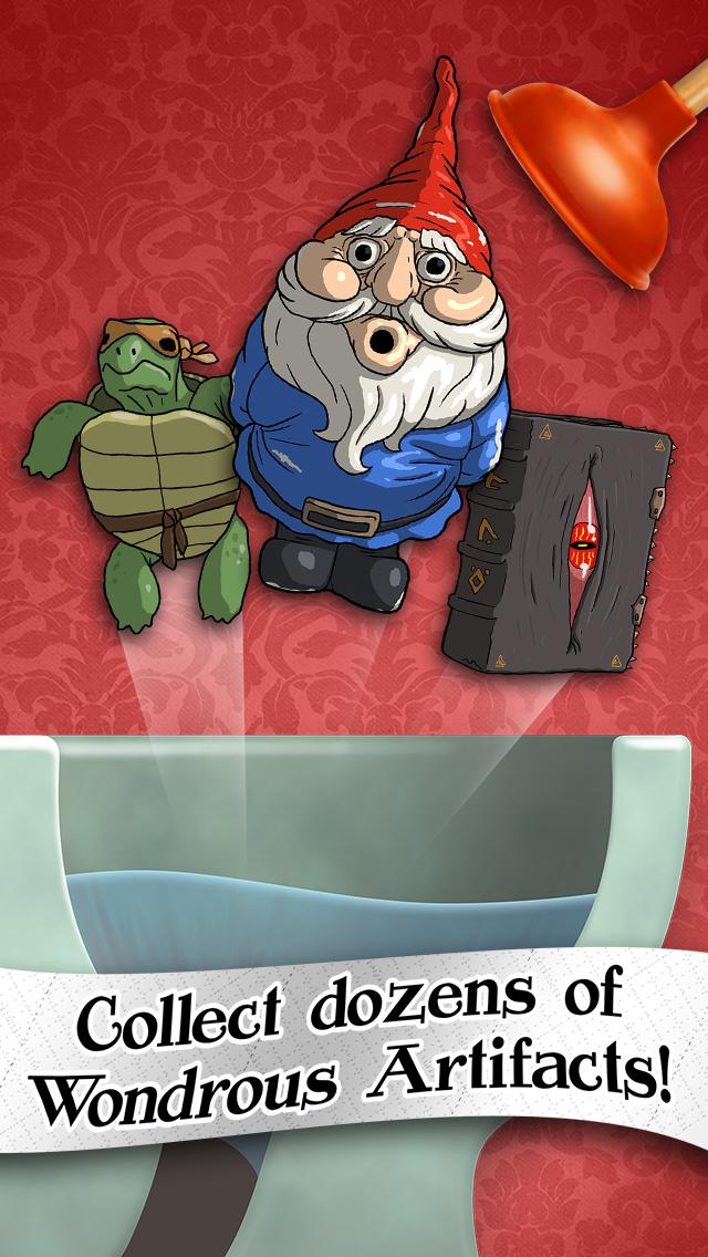 Toilet Treasures - Time for a Bathroom Adventure Game Screenshot