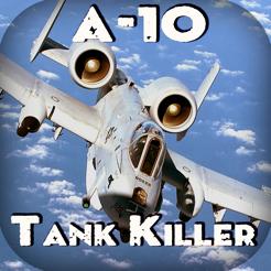 a 10 thunderbolt tank killer combat gunship flight simulator on