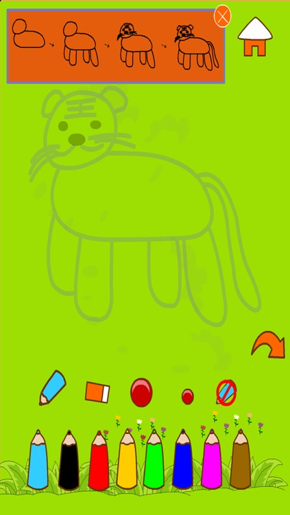 draw & doodle free draw animal screenshot-0