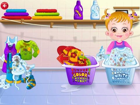 Baby Learn Washing Clothes-ipad-2