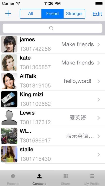 talkall - foreign language club screenshot-3