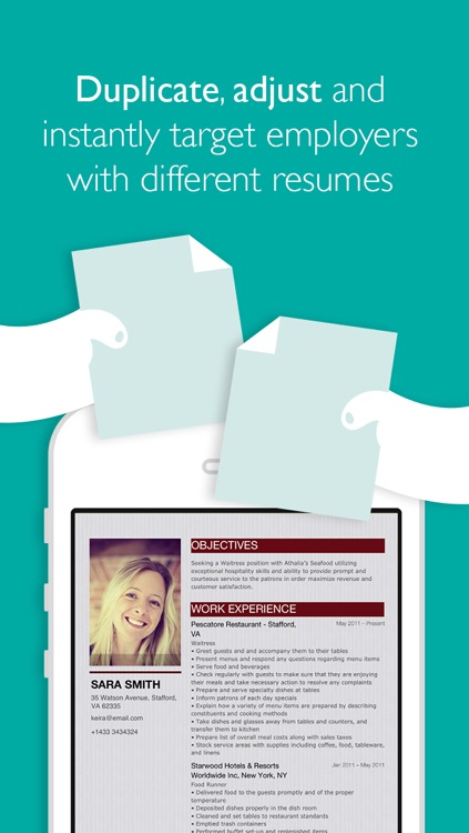 Resume Designer Pro screenshot-4