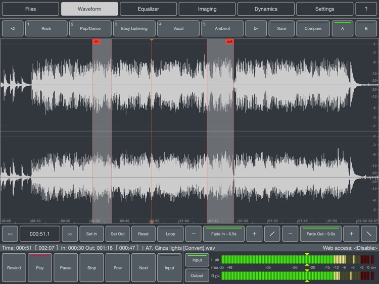 Audio Mastering screenshot-3