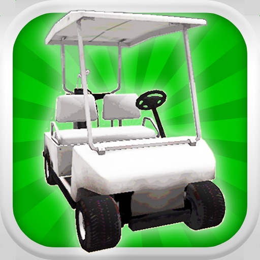 A Golf Cart Racer: Crazy Golfer Caddie Race 3D - FREE Edition