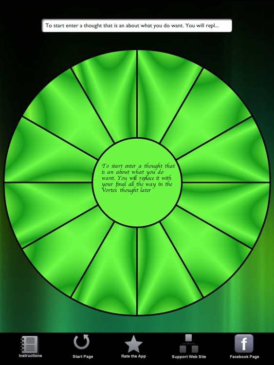 Law of Attraction Focus Wheel HD