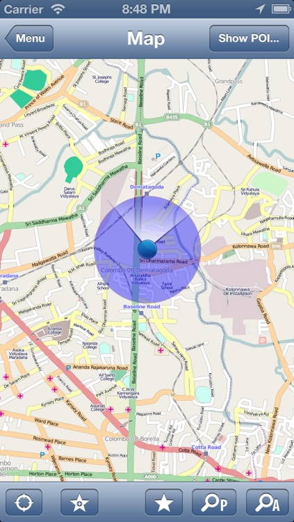 Sri Lanka Offline Map - PLACE STARS