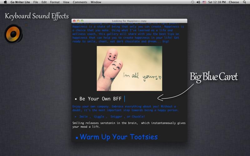 Go Writer Lite Screenshot