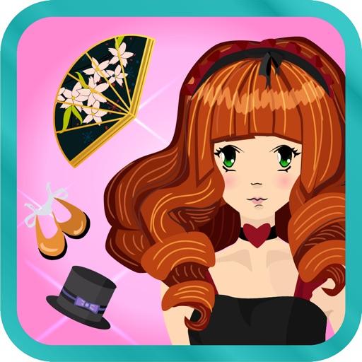 Stylish Fashion Star - Chic Dress up Girls Game - Free Edition icon