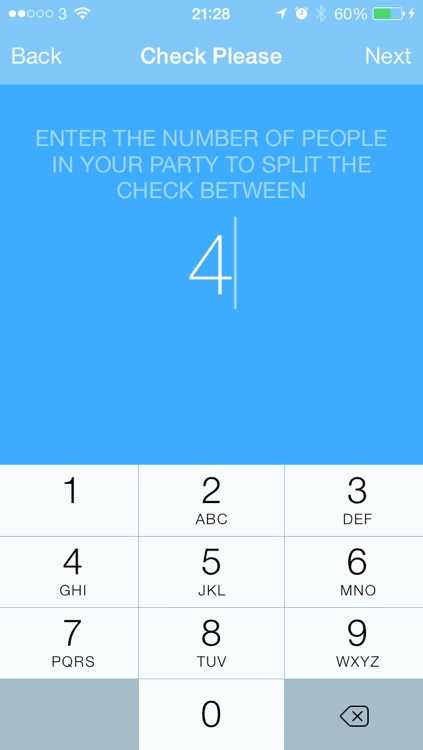 Check Please - Tip & Check Split Calculator screenshot-3