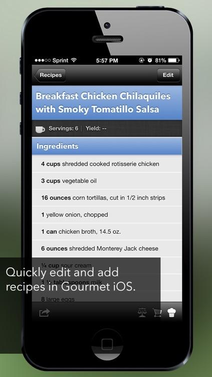 Gourmet Mobile screenshot-3