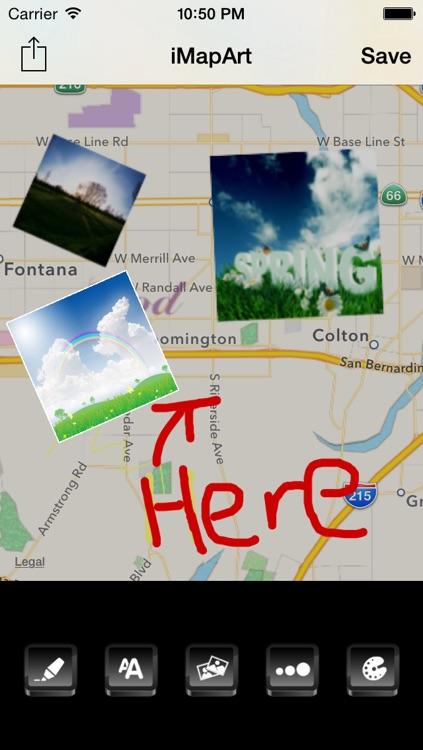 MapTracker Free - Photo on Map