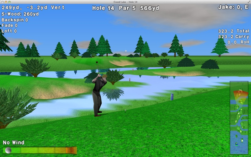 GL Golf Lite Screenshot