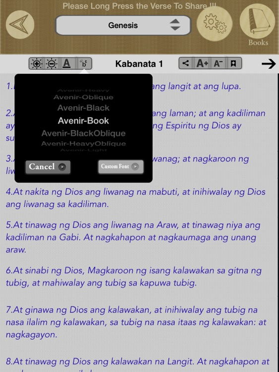 Tagalog Bible Offline screenshot-4
