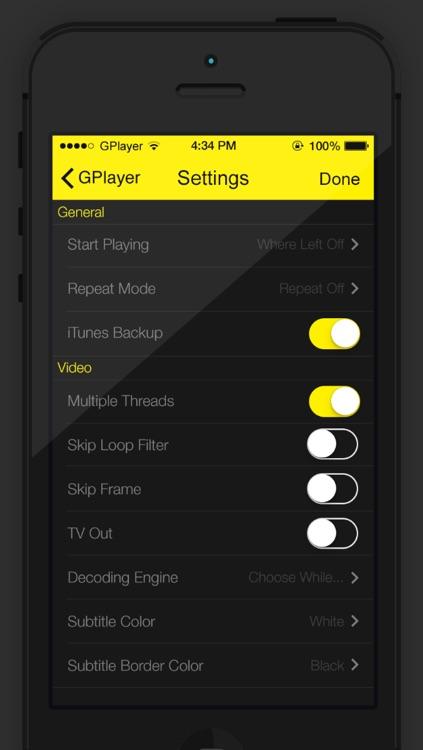 GPlayer screenshot-3