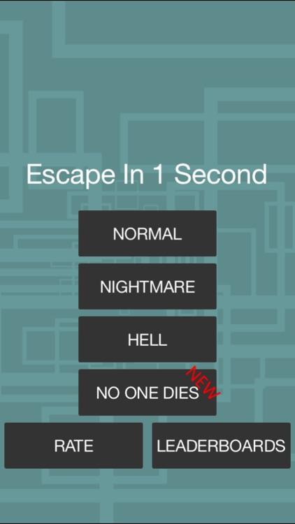 Escape In 1 Second