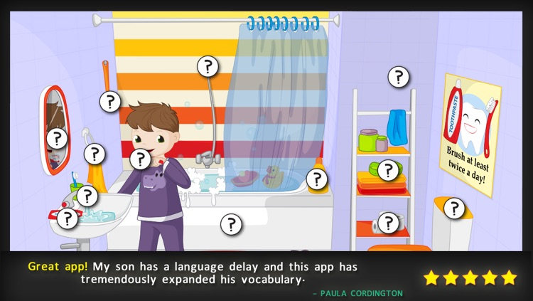 Bud's First English Words - Vocabulary Builder, Reading Game, Picture Dictionary & Learning activities for Preschool Toddlers