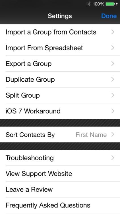 Mass Text Message screenshot-3