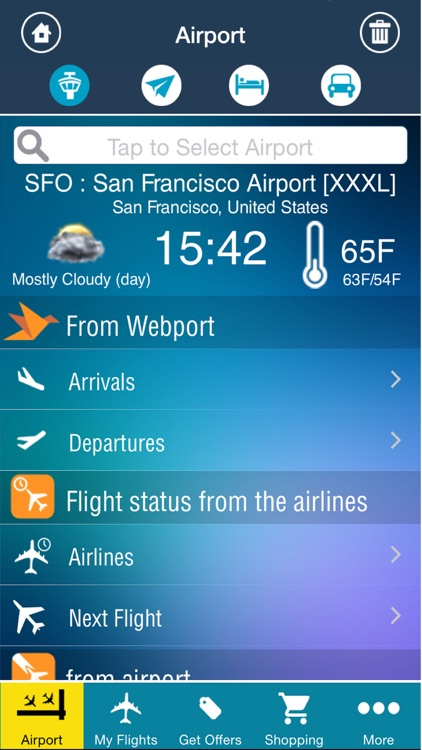 Airport (All) +Live Flight Tracker -all airports and flights in the world +flight status double check -radar