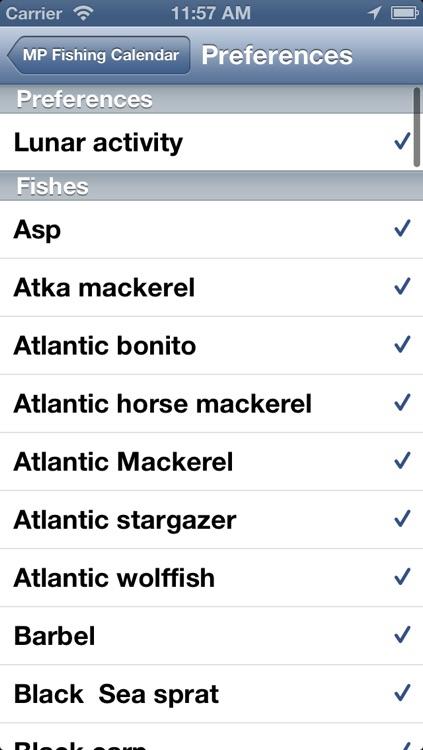 MP Fishing Calendar screenshot-3