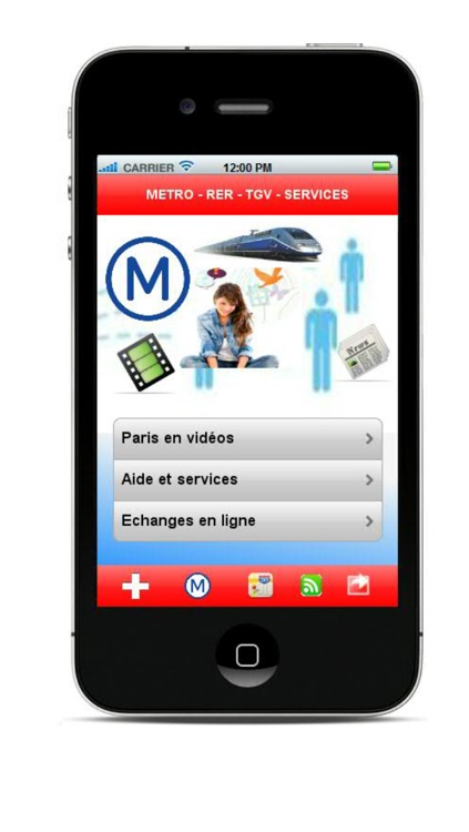 Paris Metro RER, trains, TGV, paris videos, help, gps, paris map...