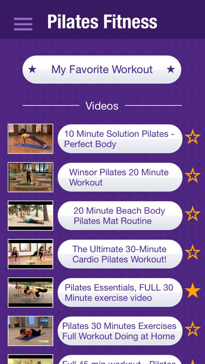 Pilates Fitness Exercises - Burn Calories & Lose Weight with Videos Workouts