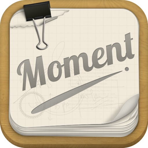 Moment-Record every moment with time. iOS App