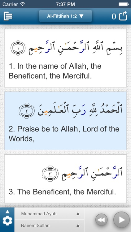 Quran Plus screenshot-1