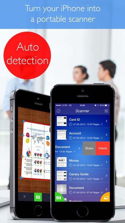 Scanner (Scan documents and images and transform them into PDF with your scanner) screenshot-4