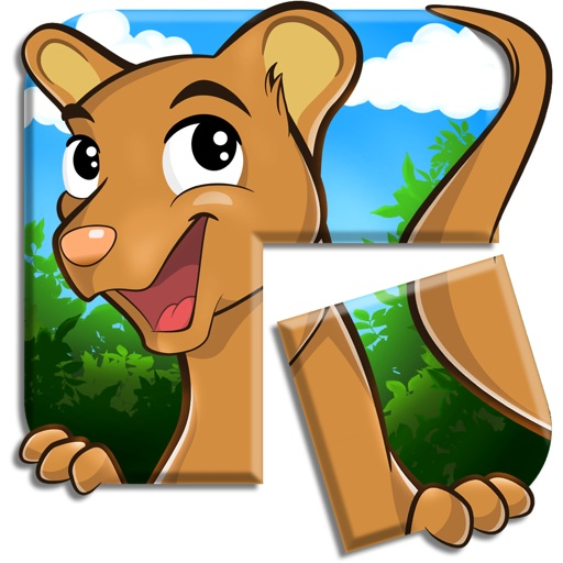 Live Puzzle! Forest Animals iOS App