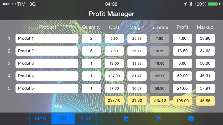 Profit Manager screenshot-1