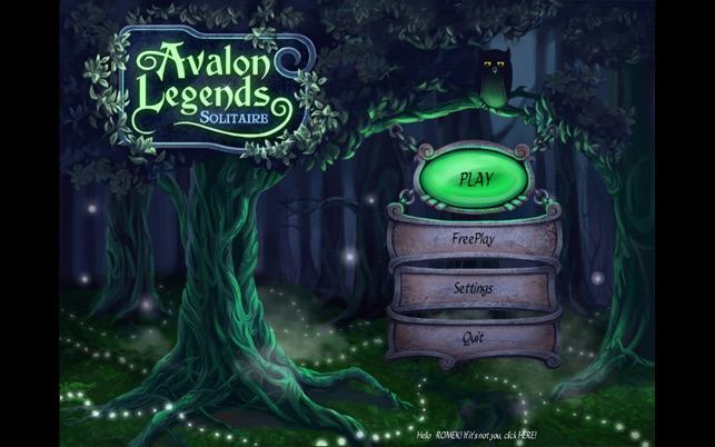 ‎Avalon Legends Solitaire Screenshot