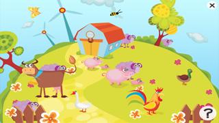 活躍的兒童遊戲2-5歲左右的農場的動物: 學習 幼兒園,學前班或幼兒園屏幕截圖3