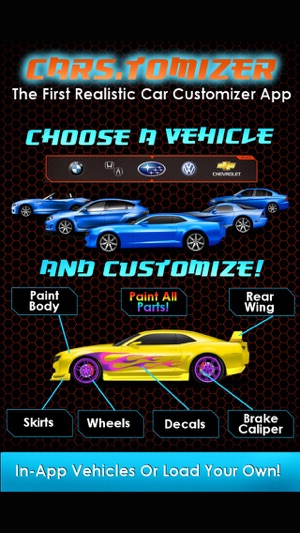 Cars Tomizer Customize Your Ride On The App Store