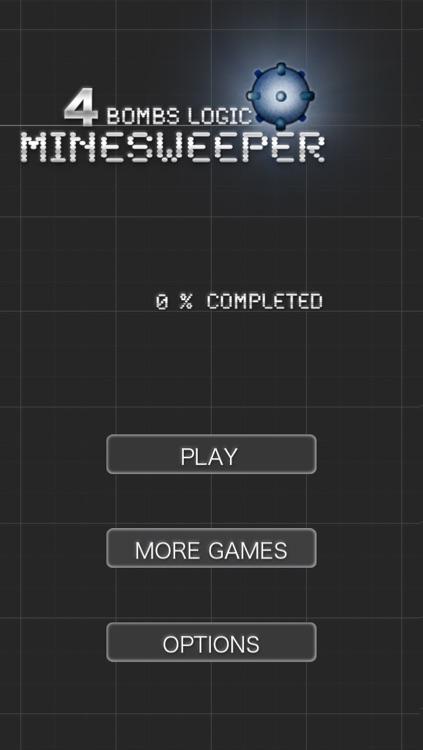 MineSweeper - 4 Bombs Logic screenshot-4
