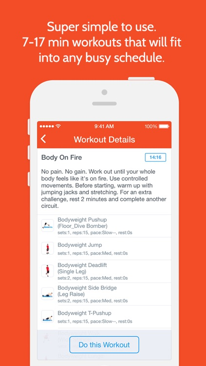 Instant Abs Trainer : 100+ ab exercises and workouts for free,  quick mobile personal trainer, on-the-go, home, office, travel powered by Fitness Buddy and Instant Heart Rate screenshot-4