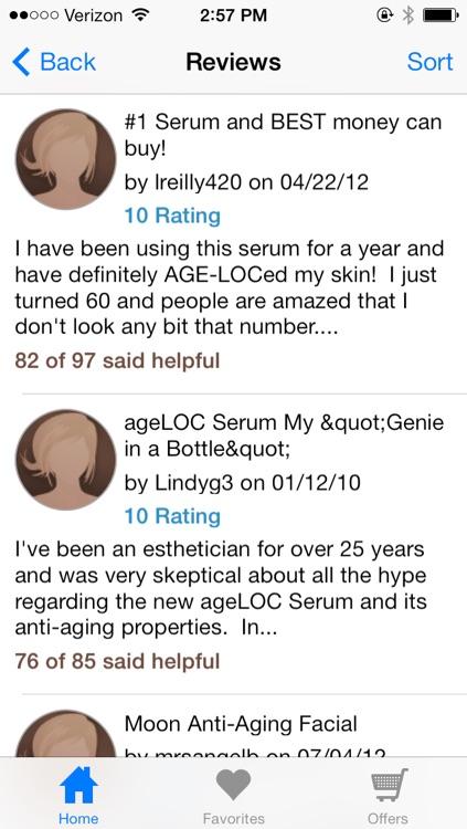 Beauty Product Reviews by TotalBeauty.com screenshot-3
