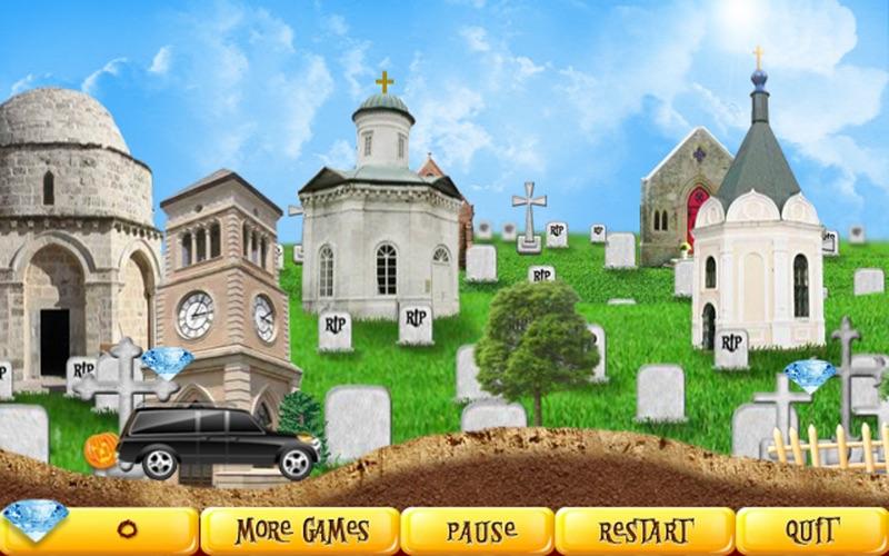 Halloween Racer Free screenshot 3